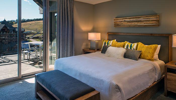 Bedroom in a Grand Colorado residence