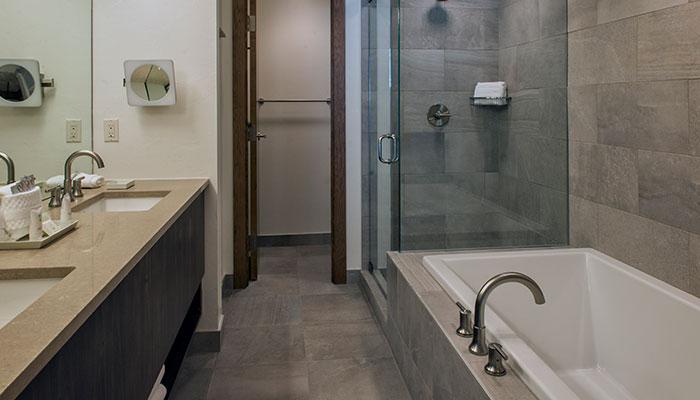 Bathroom in a Grand Colorado residence