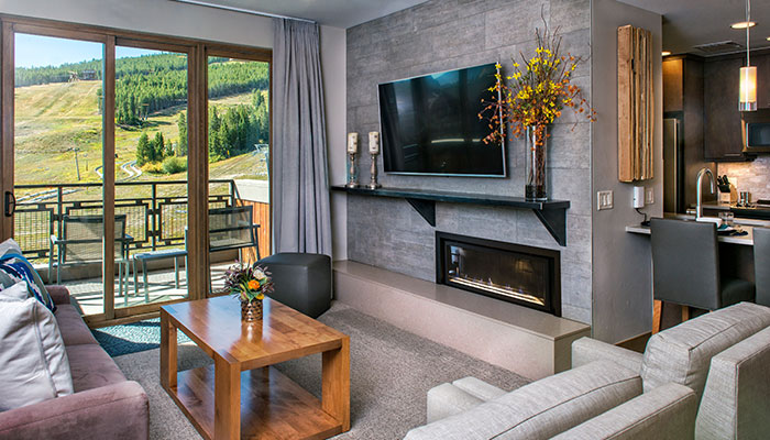Living Area in a Grand Colorado residence
