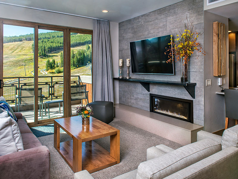 Breckenridge residence living area