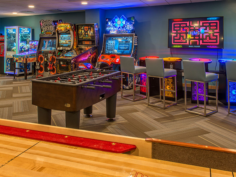 Arcade and Game Room
