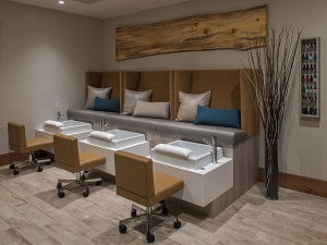 Infinity Spa pedicure room