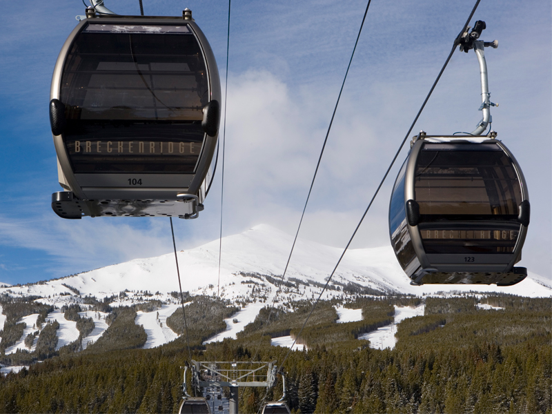 Two Breckenridge Gondolas