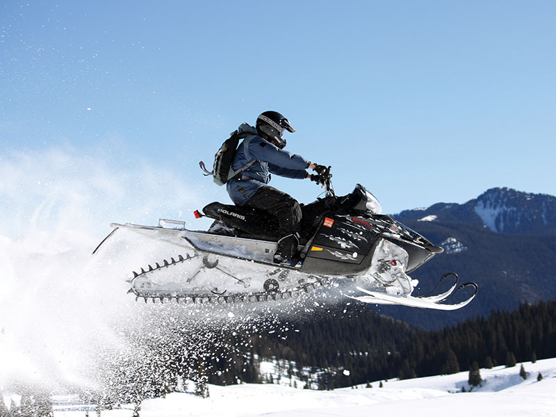 Snowmobiling in Breckenridge