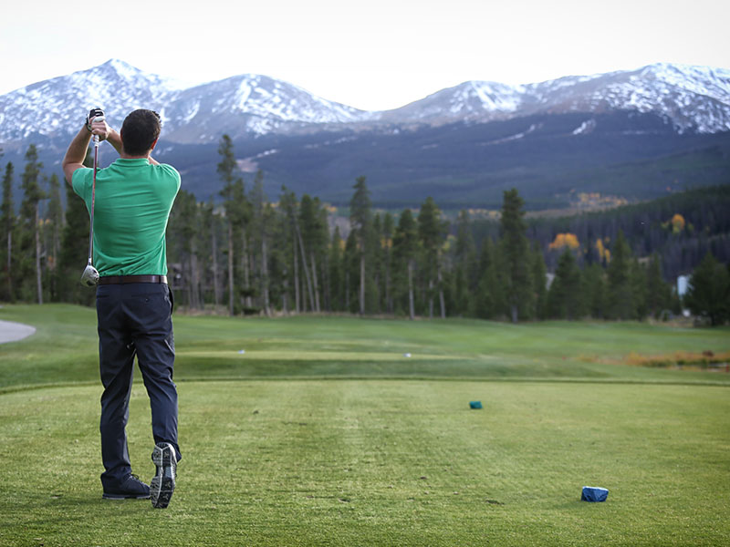 Golfing in Breckenridge