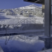 The Pool Deck at the Grand Colorado on Peak 8